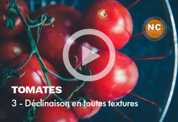 Série : Tomates mozzarella en toutes textures