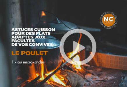 Le Poulet - 1 - Cuisson domicile au micro-ondes