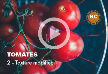 Tomates mozzarella - 2 - Texture modifiée