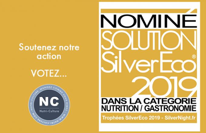 Nomination aux Trophées SilverEco 2019