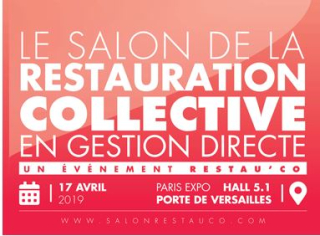 Salon Restau'Co - 17 avril 2019 - PARIS