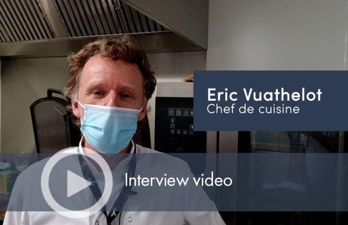 Le goût : Interview video de M. Eric Vuathelot ( Chef cuisinier en EPAD)